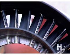 Bauteil Turbine Kühlluftbohrung